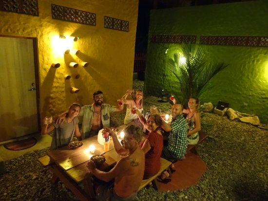 Las Salinas, Nicaragua: Nice dinner with friends and guests