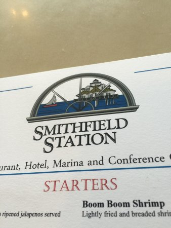 Smithfield, VA: Menu