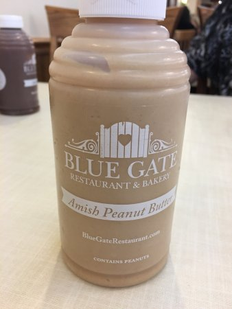 Blue Gate Restaurant and Bakery: Blue Gate peanut butter is a favorite for any PB lover!