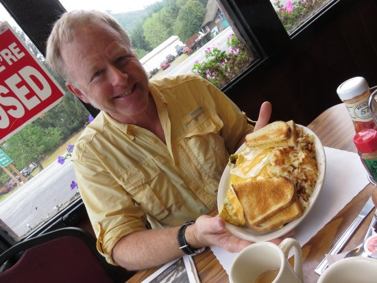 Beaver, WA: Logger's breakfast