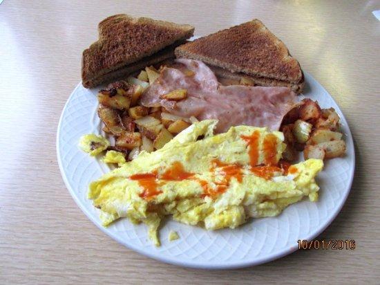 "Canaan, CT: ""Ham"" & eggs"