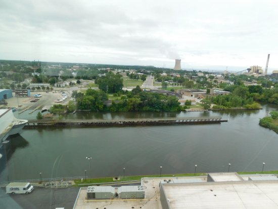 Blue Chip Casino and Hotel: A quick view of Michigan City, IN from the room.