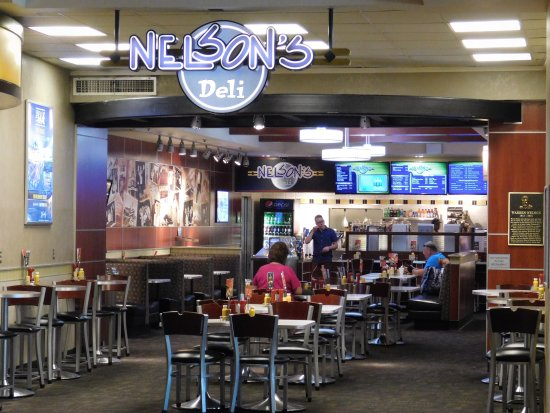 Blue Chip Casino and Hotel: The Deli that is located in Blue Chip Casino.