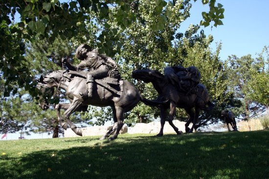 First National's Spirit of Nebraska's Wilderness and Pioneer Courage Park Foto