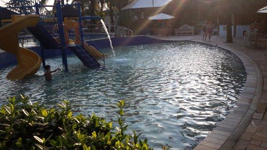 Vista parcial da piscina infantil foto de thermas park for Piscina olimpia sabadell 2018