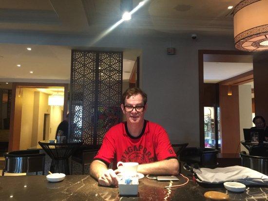 PARKROYAL Yangon: Capuccino time