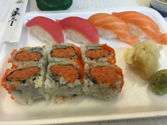 Mays Landing, Nueva Jersey: Sushi platter at Osaka