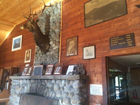 Keene Valley, Nowy Jork: Johns Brook Lodge Common Room