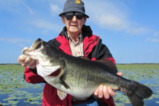aj s freelancer bass guide service you re never too old to catch the fish