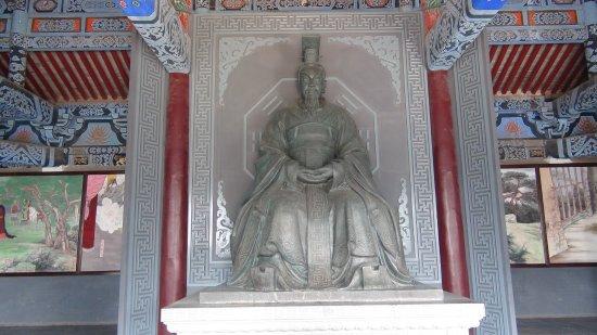 Tangyin County, จีน: 周文王座像