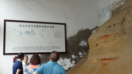 Tangyin County, จีน: 竜山文化遺構(羑里城内)