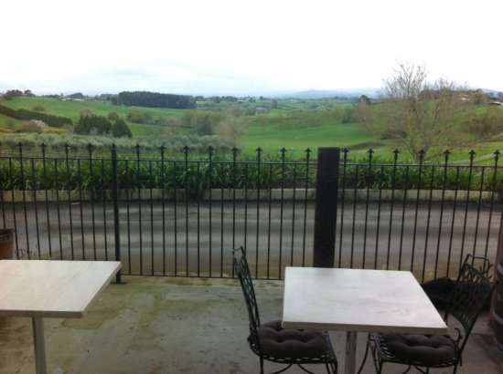 Te Awamutu, New Zealand: Views outside the cafe1