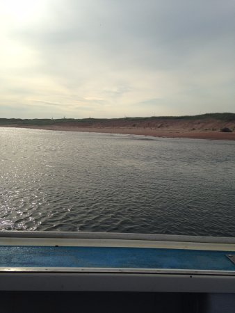 Souris, Canadá: view from the boat