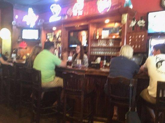 Landrum, Carolina del Sur: bar area
