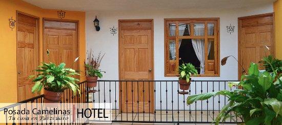 Hotel Posada Camelinas : Acogedor espacio para descansar en Pátzcuaro.