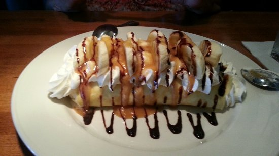 Landry's Seafood House: This is one of the best desserts that I have ever enjoyed. It was even better with my wife.