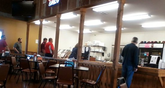 Navasota, TX: Cafeteria style ordering