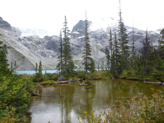 เพมเบอร์ตัน, แคนาดา: A small pond at the upper lake