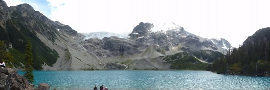 Pemberton, Канада: A panorama of the upper lake