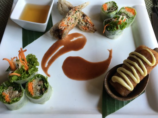 Fabulous Contemporary Food in Traditional Setting