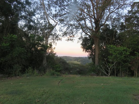 Beautiful mountain views from Cooroy Country Cottages