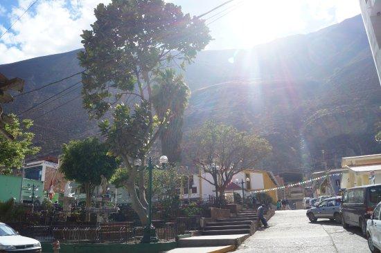 Churin, Peru: plaza de armas de Churín