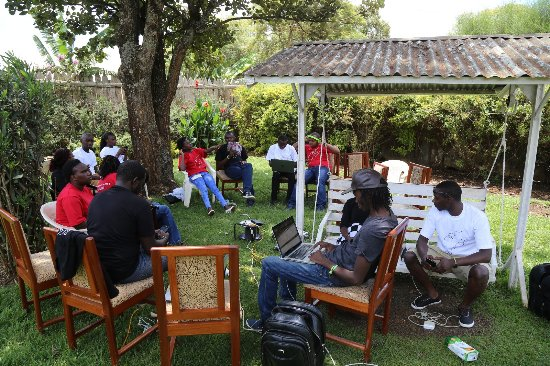 Watercrest Gardens: @Maskani254 tweetup meeting