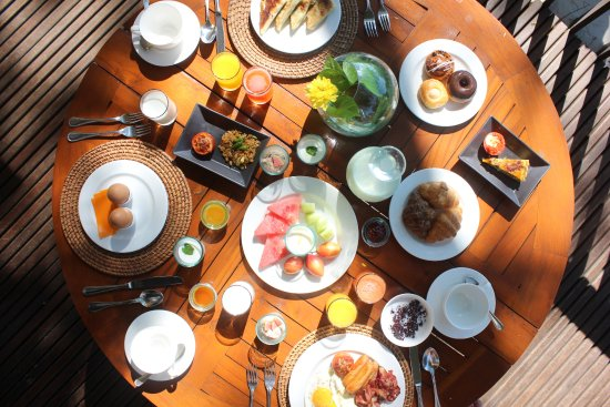 Maya Ubud Resort & Spa: Really delicious breakfast