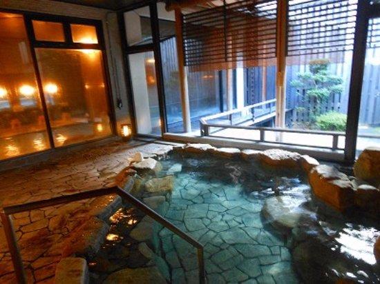 Awazu Onsen: 宿泊施設の温泉