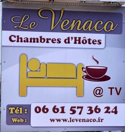 Venaco, Francia: Panneau indicateur