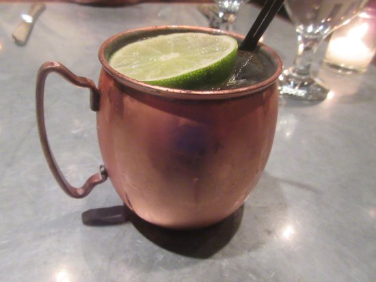 Revival Bar+Kitchen: Moscow Mule, Revival Bar & Kitchen, Berkeley, CA