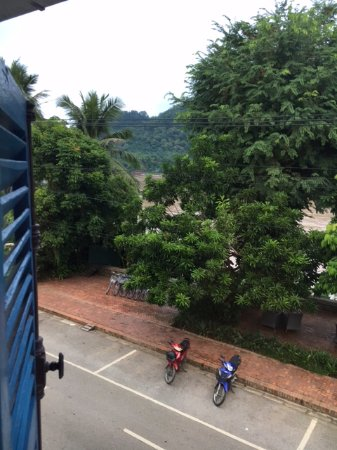 The BelleRive Boutique Hotel: Nice view of the Mekong from the rooms