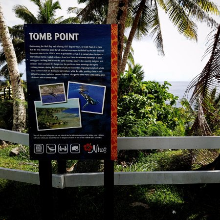 Tomb Point: Information sign