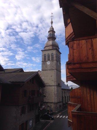 Le Grand-Bornand, Francia: Vue du balcon