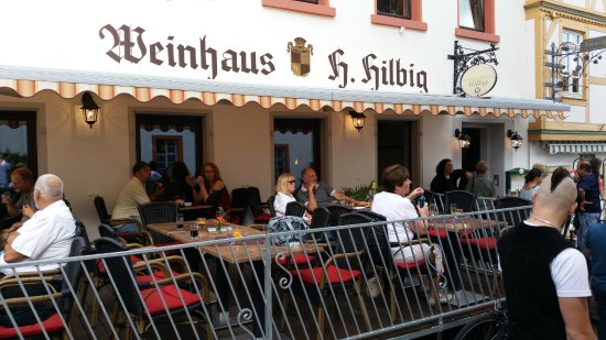 Oppenheim, Germany: Weinhaus Hilbig