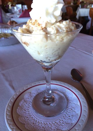 West Coxsackie, NY: Homemade Rice Pudding