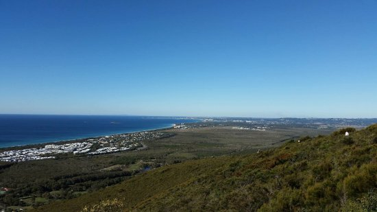 Coolum Beach, Australia: The view from the top!