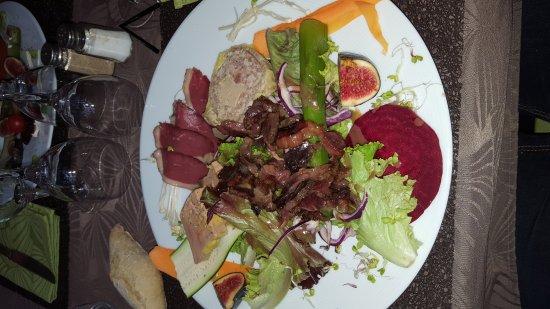 Saint-Astier, Frankrike: Restaurant La Palombiere