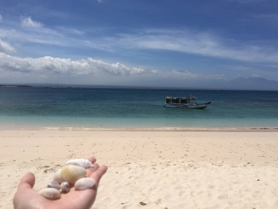 West Nusa Tenggara, Indonesia: Mesmerizing pristine beaches, local yummy lunch with a view! Can't wait to be back for more.