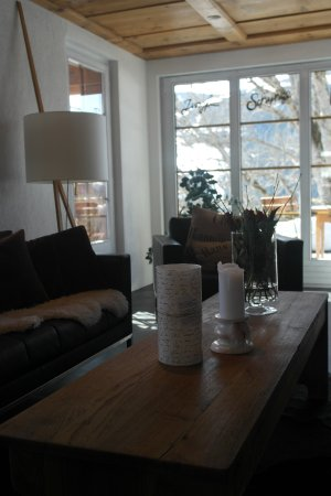 Silvi's Dream Catcher Inn Guesthouse: Wohn-/Essbereich Ferienwohnung Abendwind