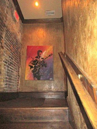 Stairway from BB King to Itta Bena