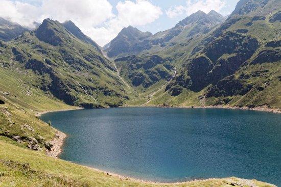 Ariege, Frankreich: panorama sur le lac