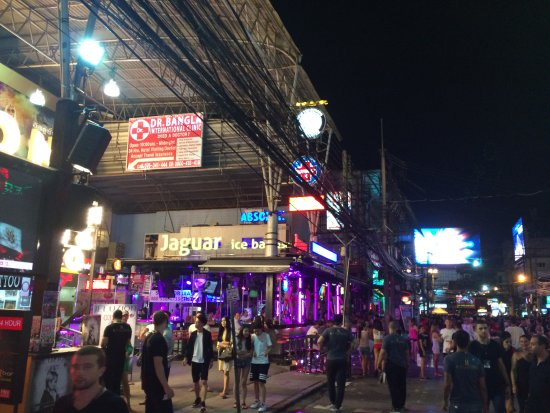 bangla road can be a bit overwelming when you are used to peace and quietness