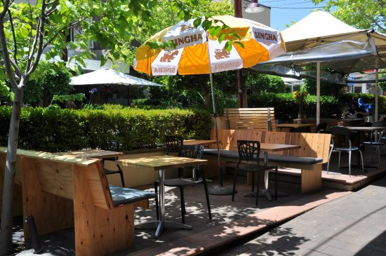outdoor seating picture of street market asian tapas bar
