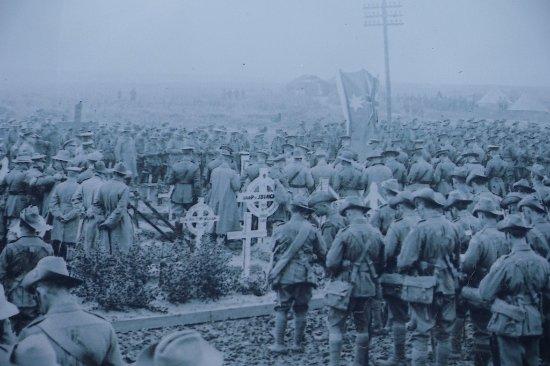 Pozieres, Франция: 1st Australian Division Memorial
