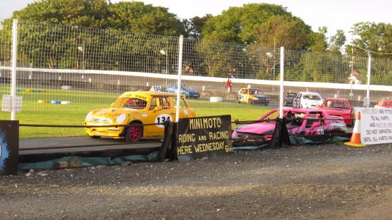 Onchan, UK: Stock car racing