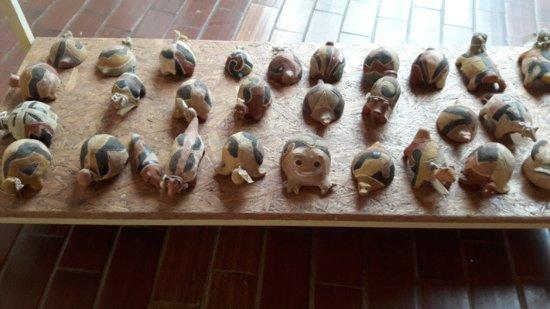Memorial da Cultura Indigena: artesanato