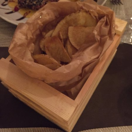 Liscia di Vacca, Italy: Chips (NOT French fries)