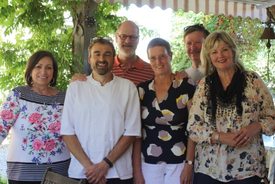 Saint-Cyprien, France: The cooking course participants from 6th September 2016