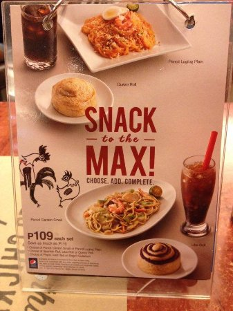 max s restaurant advertisement